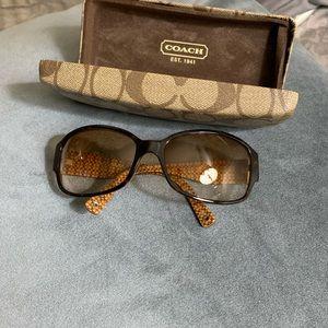 Coach Sunglasses 💯 original brown gradient.